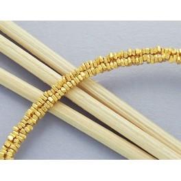 Karen hill tribe 24k Gold  Vermeil Style  160  Little Stick Beads