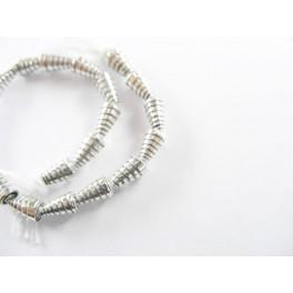 Karen Silver 20 Curling Cone Beads 3 x 5.5 mm.